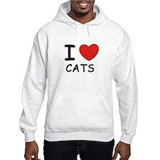 I love cats Hoodie