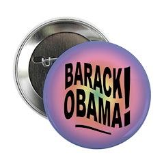 Barack Obama! Groovy Button