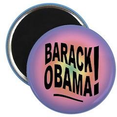 Barack Obama! Groovy Magnet