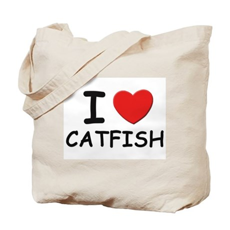 I love catfish Tote Bag