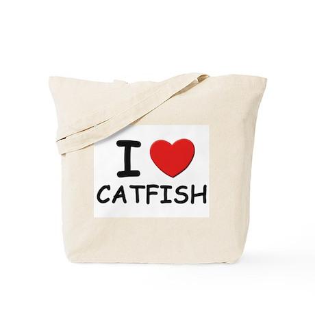 I love catfish Tote Bag
