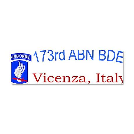 173rd ABN BDE CAP Car Magnet 10 x 3