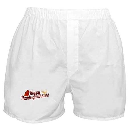 Happy Thanksgivukkah Boxer Shorts
