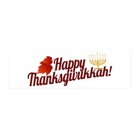 Happy Thanksgivukkah Wall Decal