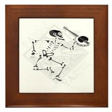 Paddle Faster Skeleton Canoe 2t Framed Tile