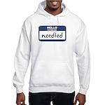 Feeling needled Hooded Sweatshirt
