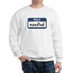 Feeling needled Sweatshirt