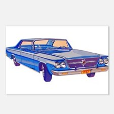 1963 Chrysler Saratoga Postcards (Package of 8)
