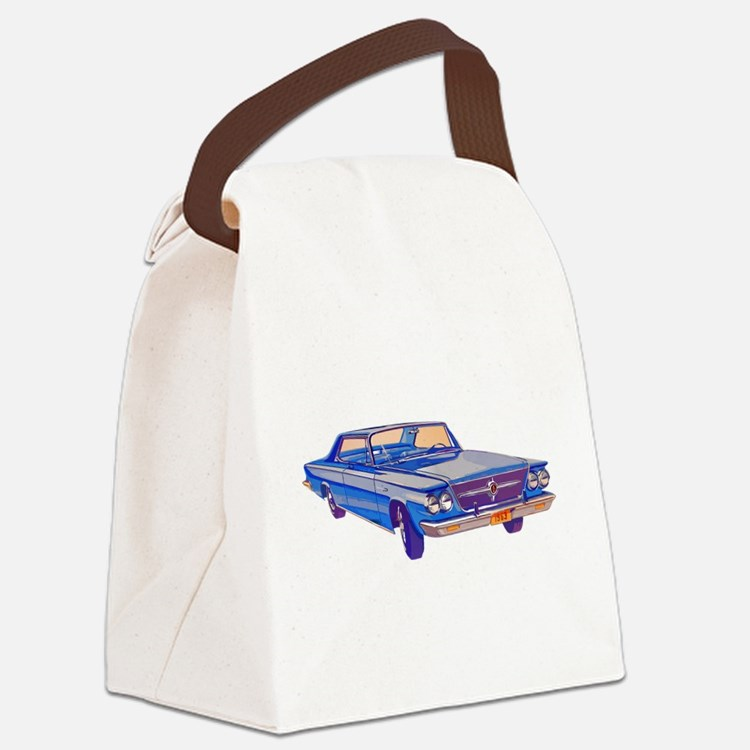1963 Chrysler Saratoga Canvas Lunch Bag