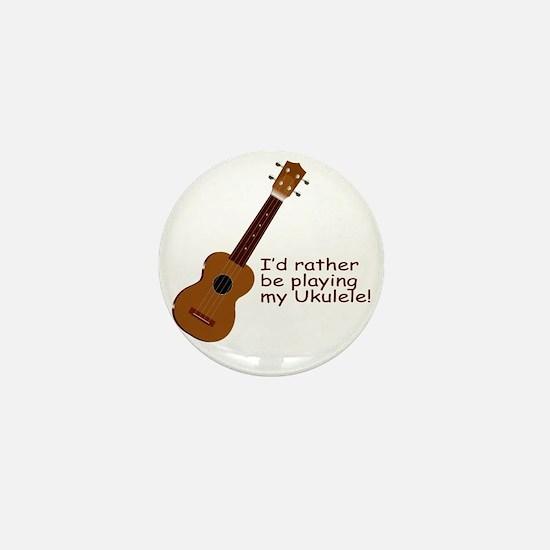 ukuleletshirt Mini Button