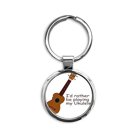 ukuleletshirt Round Keychain