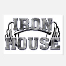 Iron House2 Name png Postcards (Package of 8)