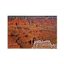 Grand Canyon South Rim Postcard Rectangle Magnet