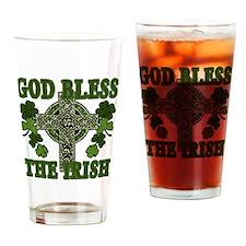 god bless Drinking Glass