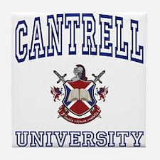 CANTRELL University Tile Coaster
