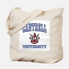 CANTRELL University Tote Bag