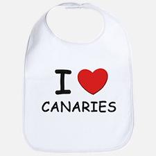I love canaries Bib