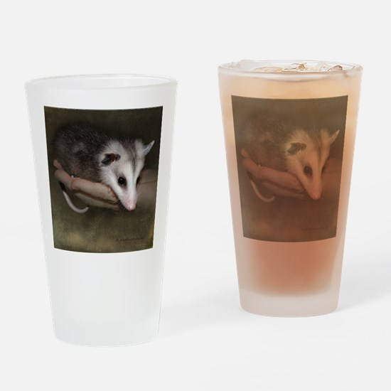 Possum child SQ 10 Drinking Glass