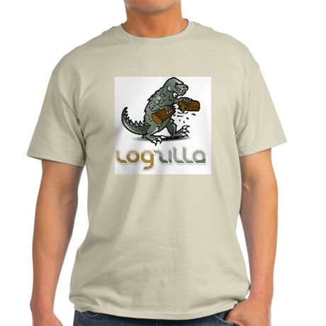 LogZilla_Logo_smoothfont_10x10t Light T-Shirt