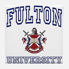 FULTON University Tile Coaster