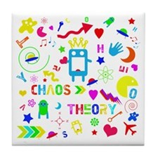 Chaos Theory Tile Coaster