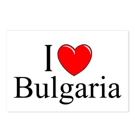 """""""I Love Bulgaria"""" Postcards (Package of 8)"""