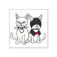 "kittyFetish Square Sticker 3"" x 3"""