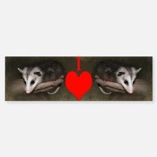 Possum Child Heart Mug Bumper Bumper Sticker