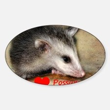 Possum Grunge Decal