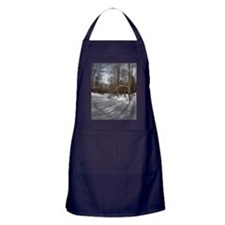 Treefall in the Woods Journal Apron (dark)