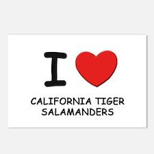 I love california tiger salamanders Postcards (Pac