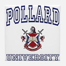 POLLARD University Tile Coaster