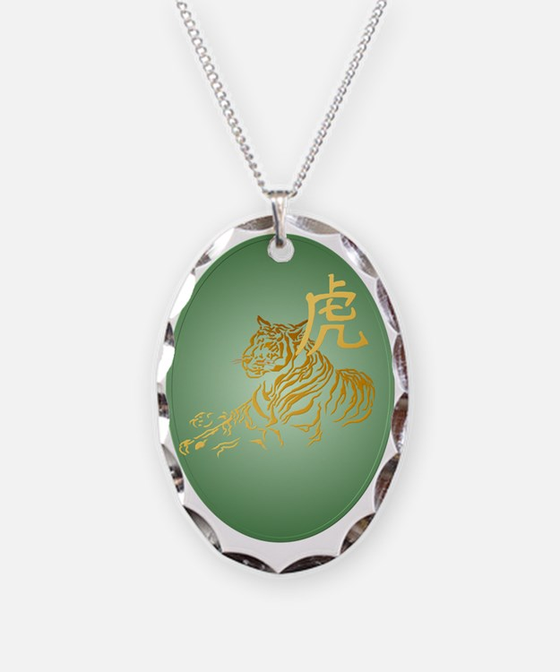 YearOfTheTiger Framed Trans Necklace