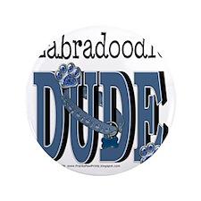 "LabradoodleDude 3.5"" Button"