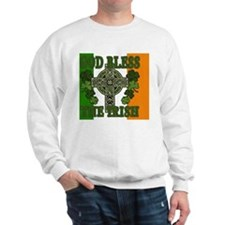 god bless_banner Sweatshirt