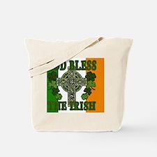 god bless_banner Tote Bag