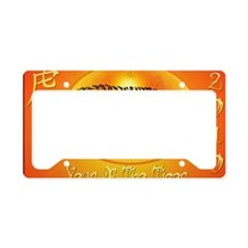 Year Of The Tiger 2010-Yardsi License Plate Holder