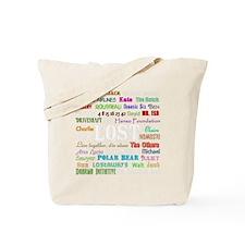 2-lostcollagewh Tote Bag