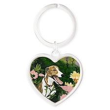 Karens Ayla lrg Heart Keychain