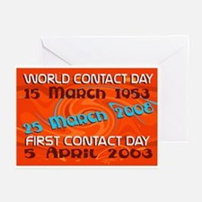 First Contact Greeting Cards (Pk of 10)