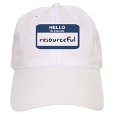Feeling resourceful Baseball Baseball Cap