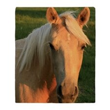 palimino horse 16x20 Throw Blanket