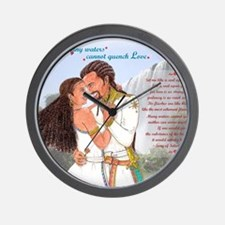 Mekonnen_Nuhamin_Quench-Love3k Wall Clock