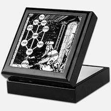 Gikatilla - white Keepsake Box