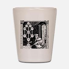 Gikatilla - white Shot Glass