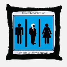 Sheepshead Review new Throw Pillow