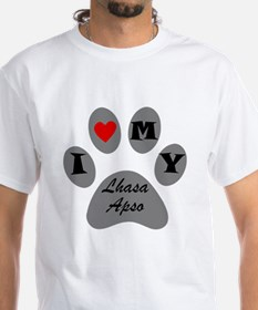 I Heart My Lhasa Apso T-Shirt
