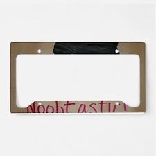 Boot  Sqoosh License Plate Holder
