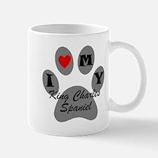I Heart My King Charles Spaniel Mugs