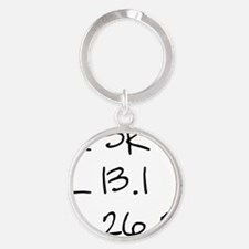 allthree Round Keychain